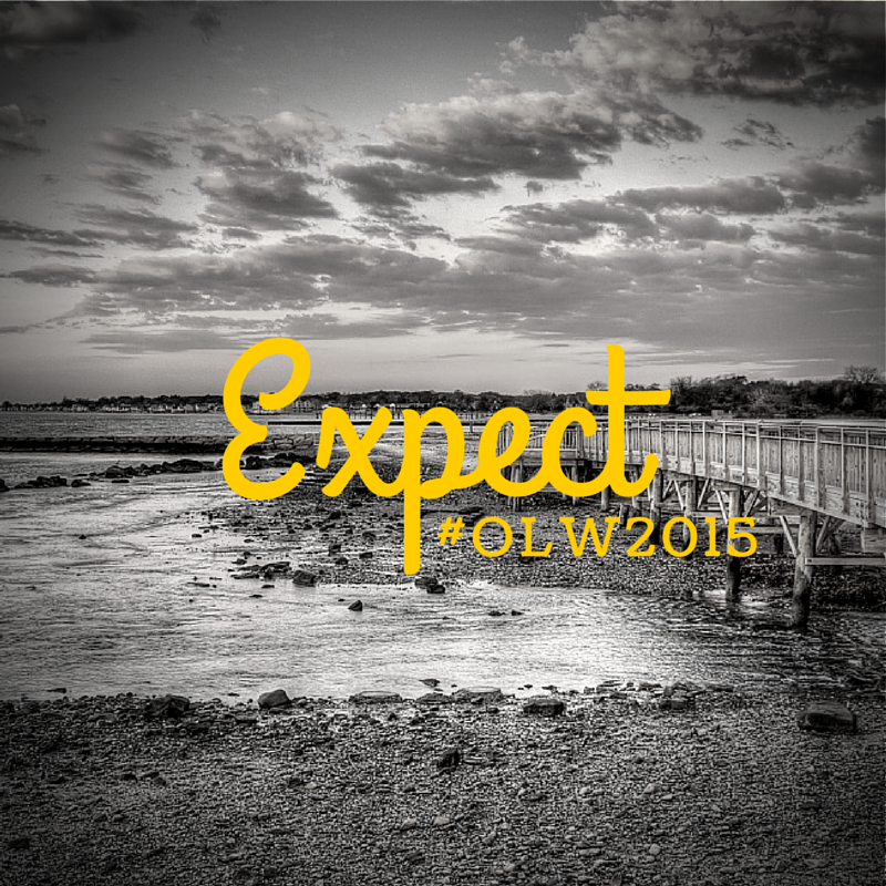 Expect. It's my #OneLittleWord for 2015. What's yours-
