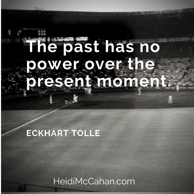 The past has no power over the present #inspiration #CoveringHome #baseball