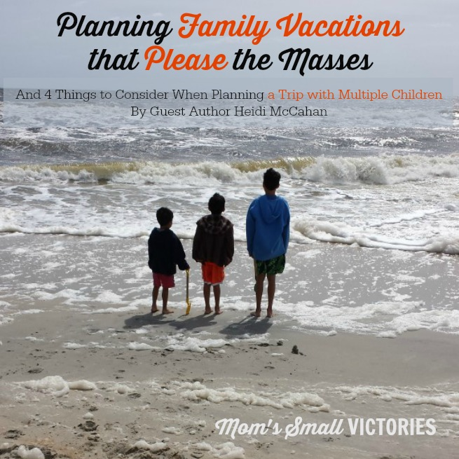Family Vacations with multiple children square