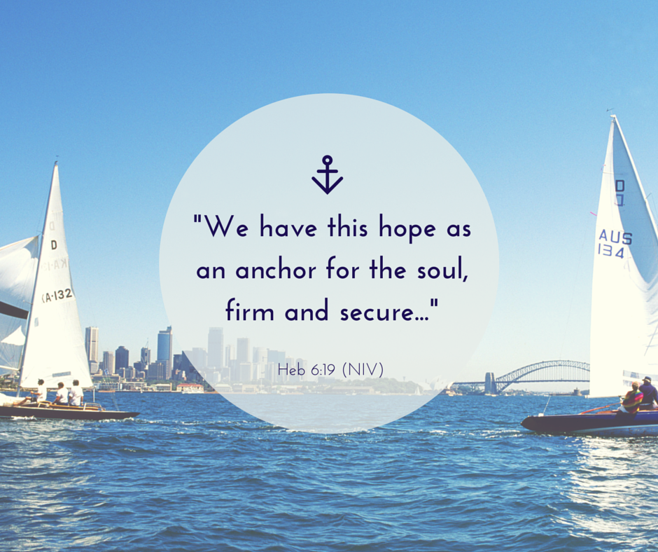 Hope, anchor, inspiration #Bloggersgetsocial #instachallenge
