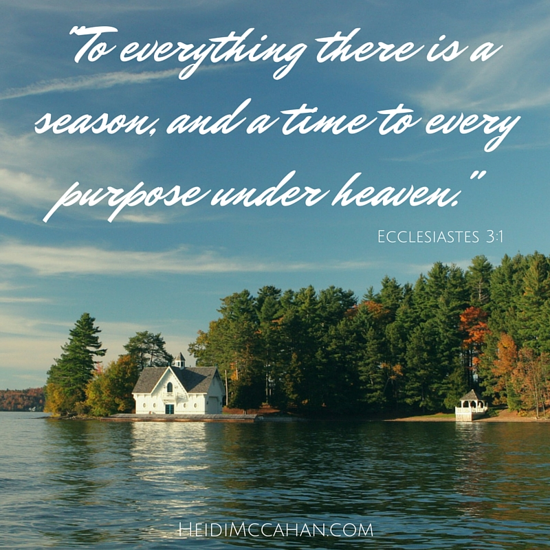 -To everything there is a season...- #inspiration #autumn #lake #quote