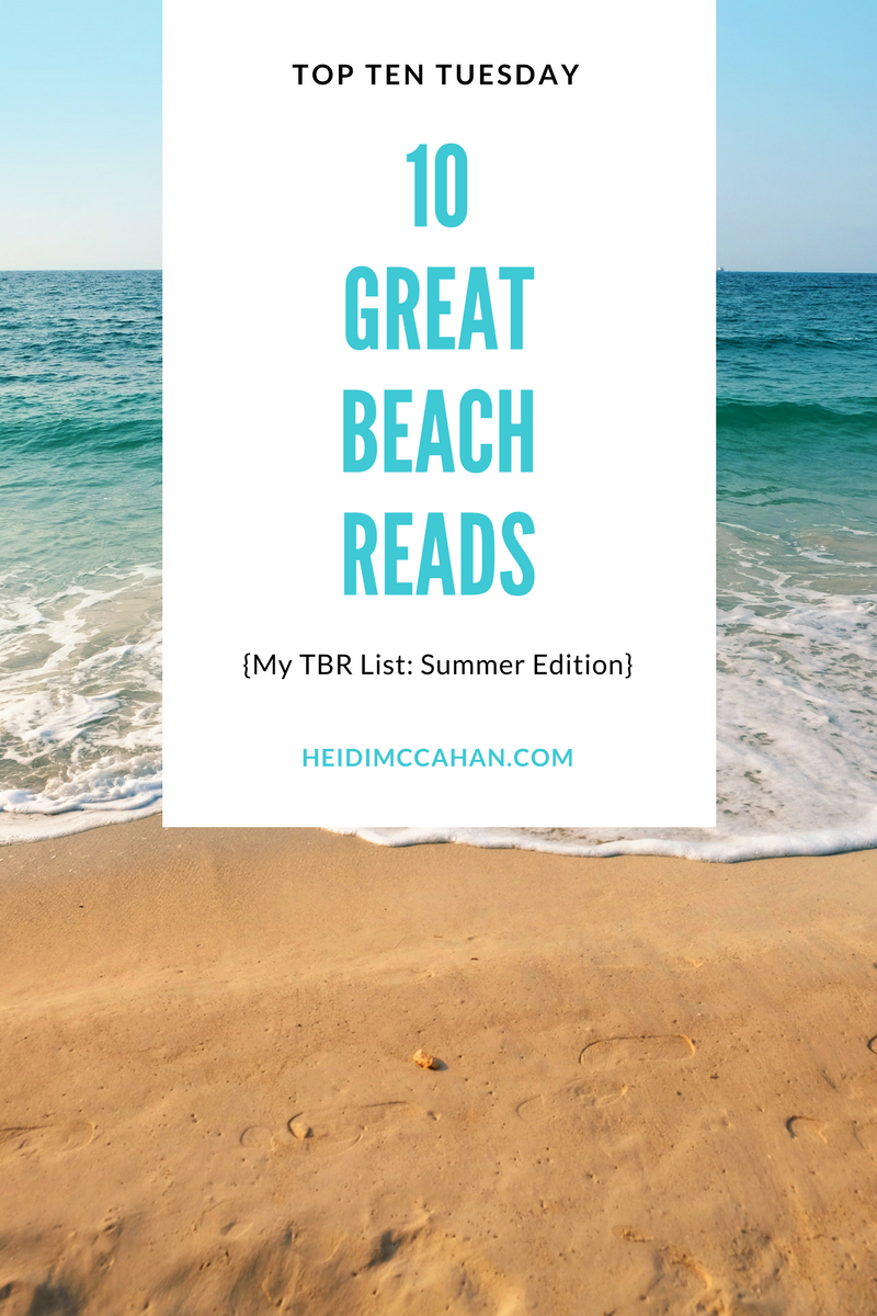 10 Great Examples Of Using Infographics For Education: Top Ten Tuesday: 10 Great Beach Reads